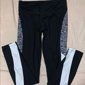 PINK Leggings with Side Detail